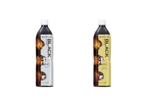香り豊かな「マキシム®」からボトルコーヒー香りとキレのブラック 900mlのシリーズが新発売!