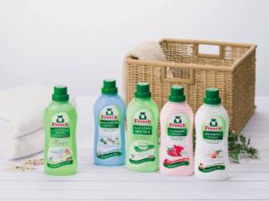 ドイツ生まれの『Frosch』から濃縮タイプの衣料用洗剤と柔軟剤が7月1日新発売!