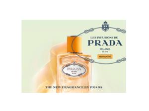 プラダの『Les Infusions de Prada(インフュージョン ドゥ プラダ)』からマンダリンの香りが新発売!