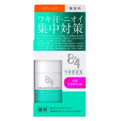 Amazon 花王 8×4 エイトフォー ワキ汗EX スティック 無香料 15g エイトフォー デオドラント・制汗剤 通販